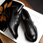 black, mens shoes