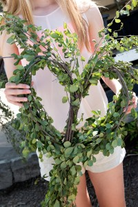 wreath from Heart Acres
