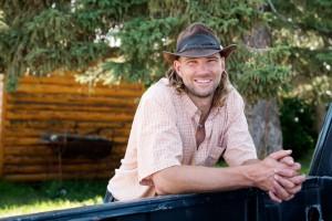 Neil Hochstein of Alberta Bison Ranch
