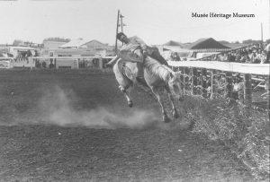 St.Albert Rainmaker Rodeo, 1974 Image credit: Musee Heritage Museum