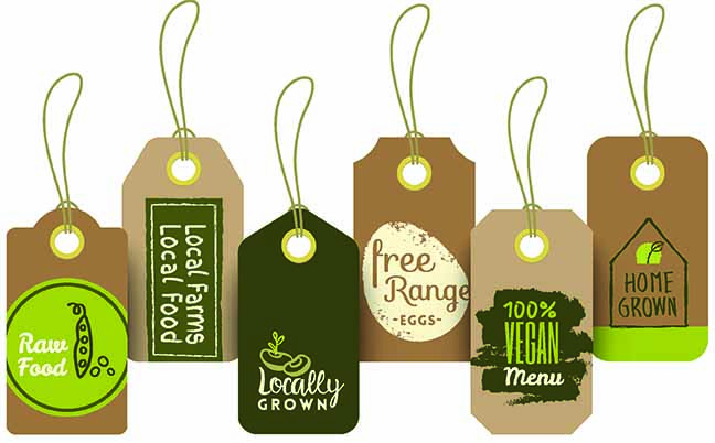 set of organic healthy food tag and label sticker design t8n set of organic healthy food tag and label sticker design t8n