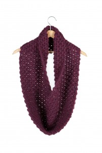 Hand-knit, Made-to-order Wool Cowl, by EmmyLou Knits, $65 Etsy shop: EmmyLouKnits