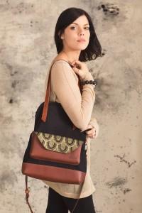 Silkscreened Bendable Bag (limited series), by Noujica, $175 Etsy shop: noujica