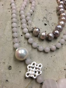 """Silver Work & Bead Necklace"" photo courtesy of Soma Mo"